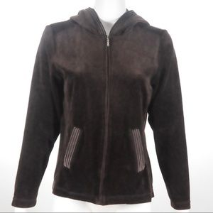 White Stage - Brown Hoodie - Size 4-6